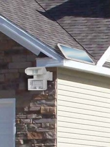 Solar LED Motion Activated Security Light