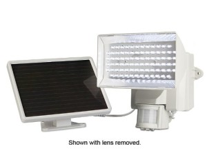 Maxsa 40225 Solar Powered Motion Activated 80 LED Security Floodlight